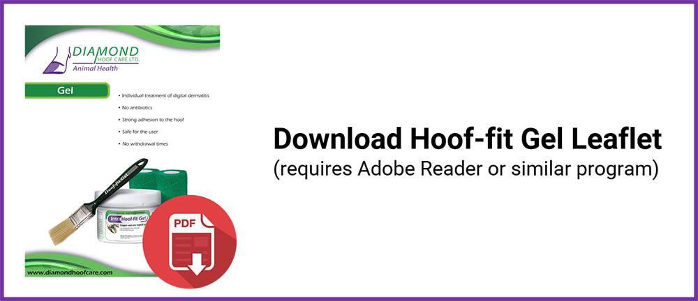 Hoof-fit Gel Leaflet Button